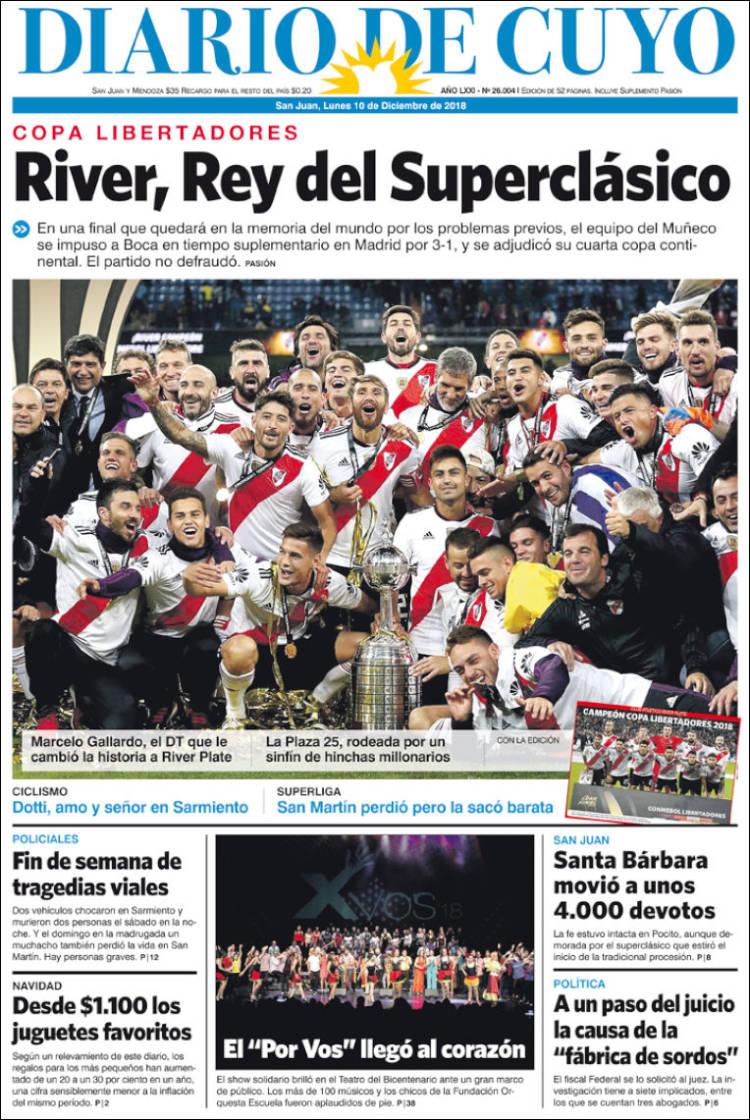 Diarios Argentinos - Portadas del dia 16-02-2019 sitio oficial ...
